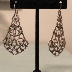 Silpada sterling silver earrings!